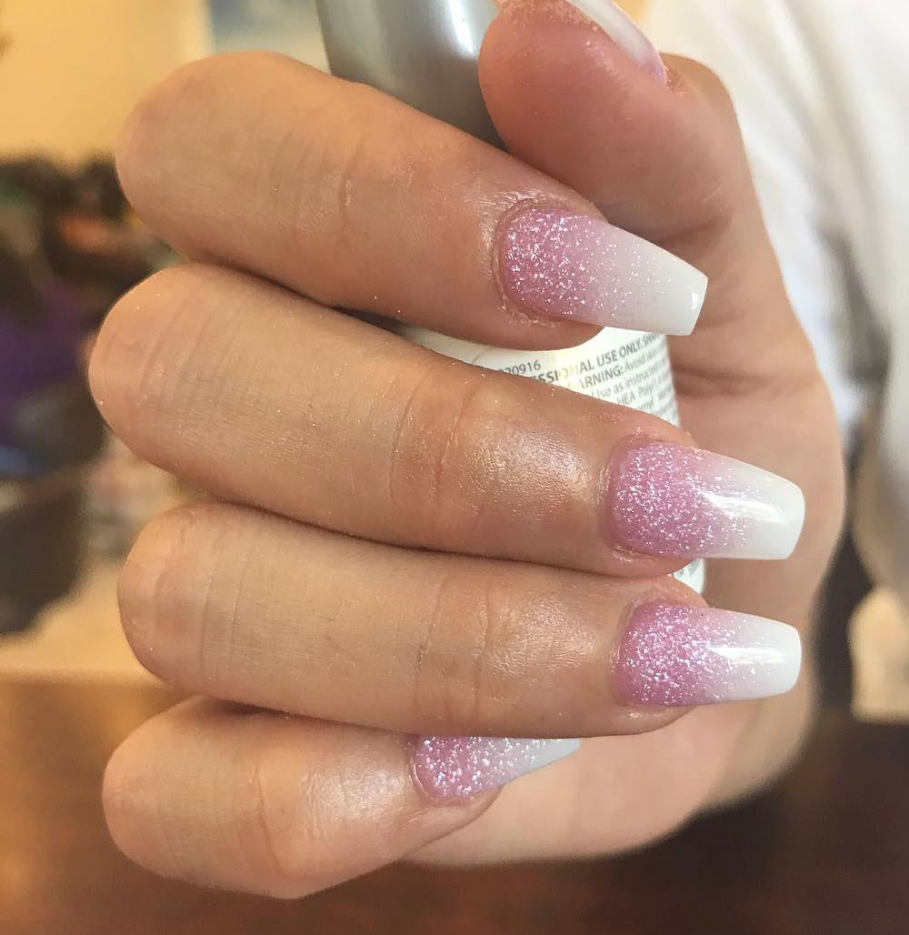 Acrylic Nail Ombre Diva Nail Salon
